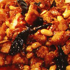 Pork with Peanuts Hot and Spicy Sauce